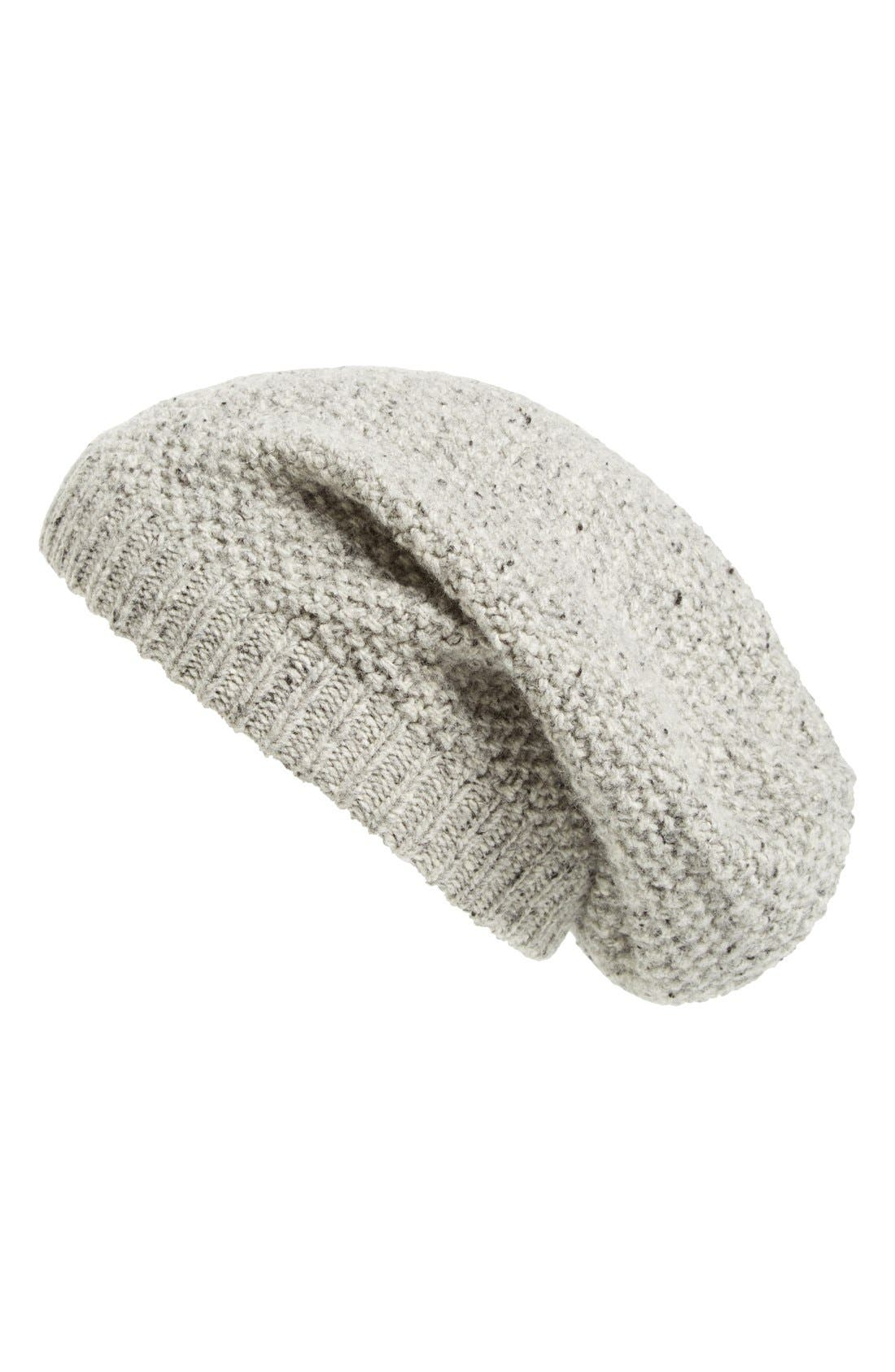 SOLE SOCIETY Wool Knit Beanie