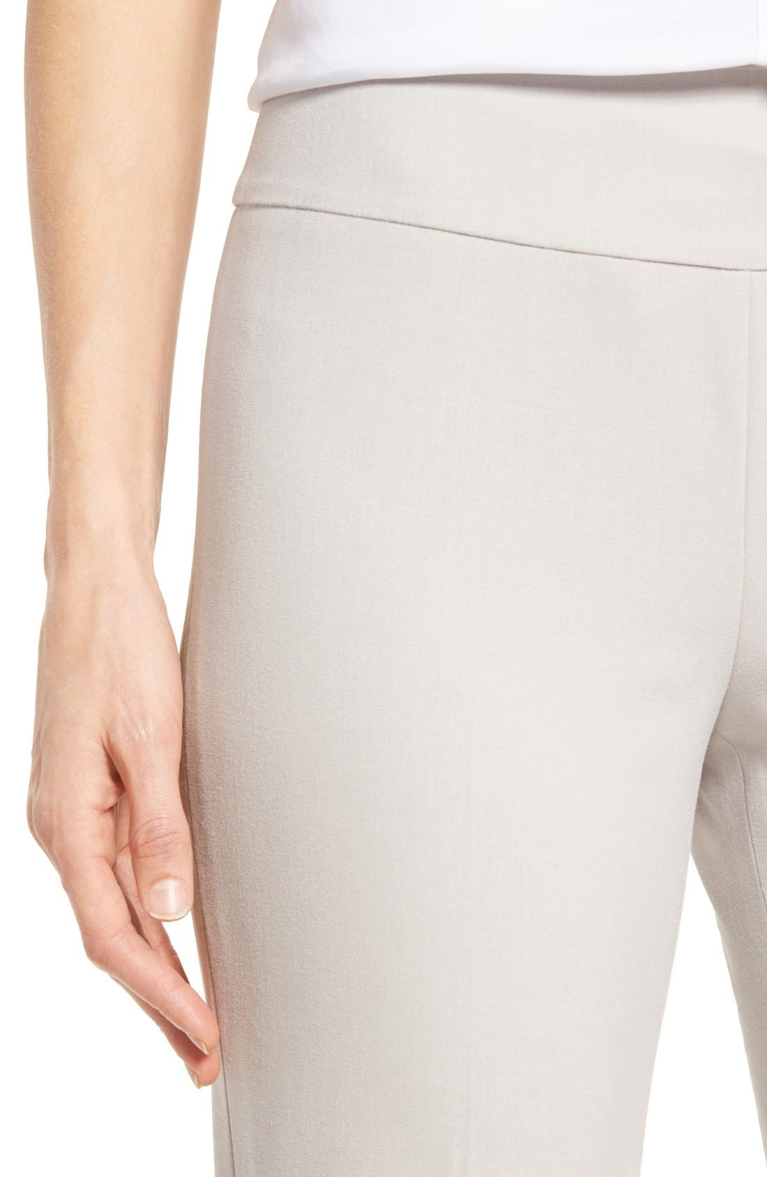 Alternate Image 4  - NIC+ZOE Stretch Knit Slim Leg Pants