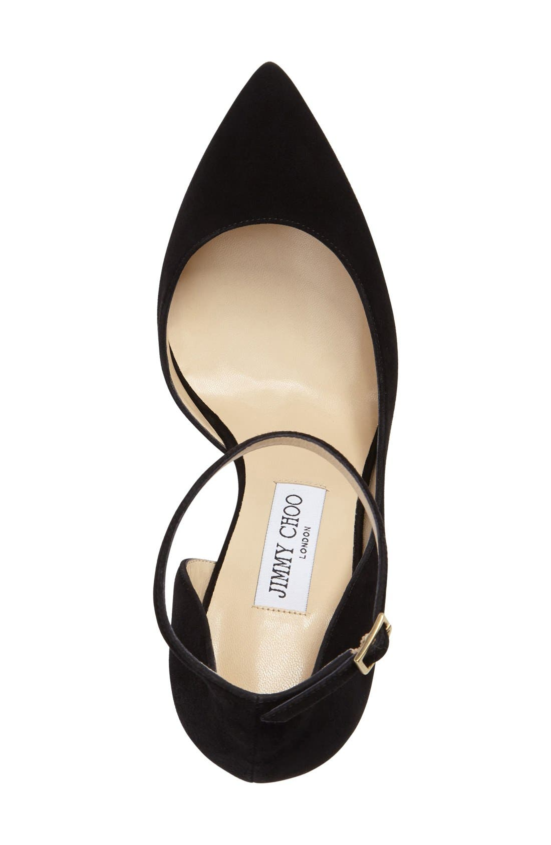Alternate Image 3  - Jimmy Choo 'Lucy' Half d'Orsay Pointy Toe Pump (Women)