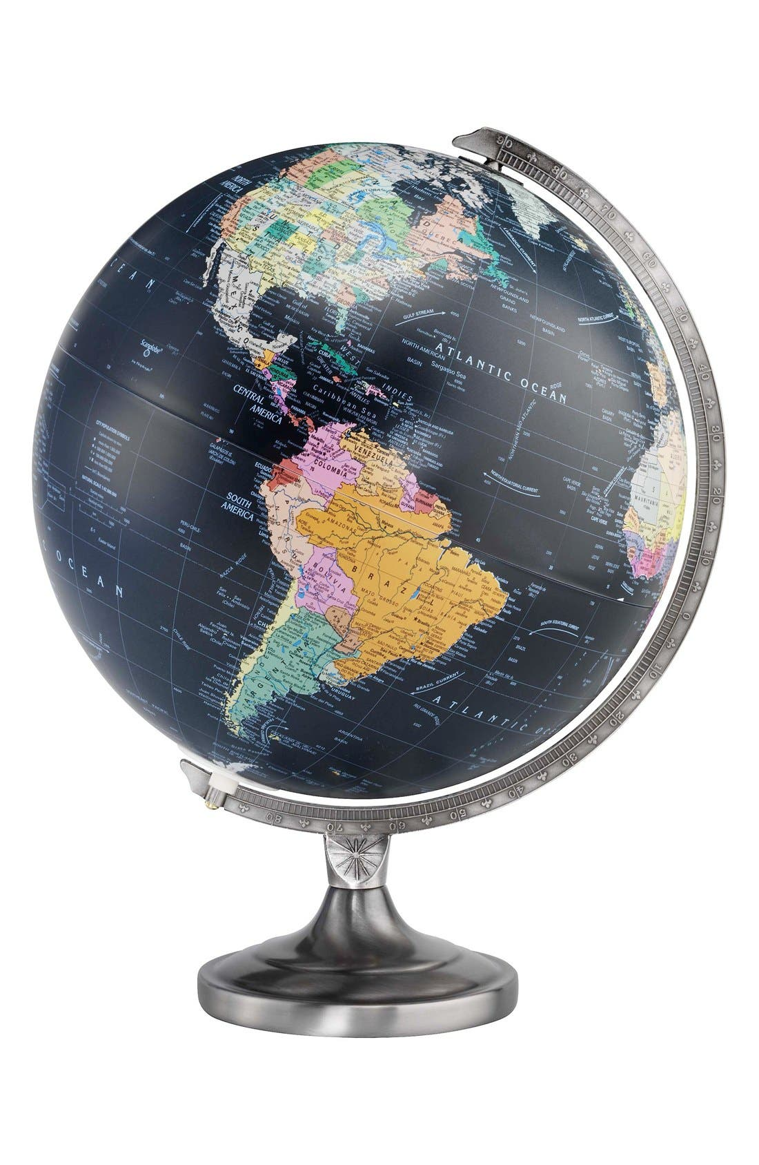 Replogle Globes Orion Light-Up Globe,                         Main,                         color, Black Ocean Globe