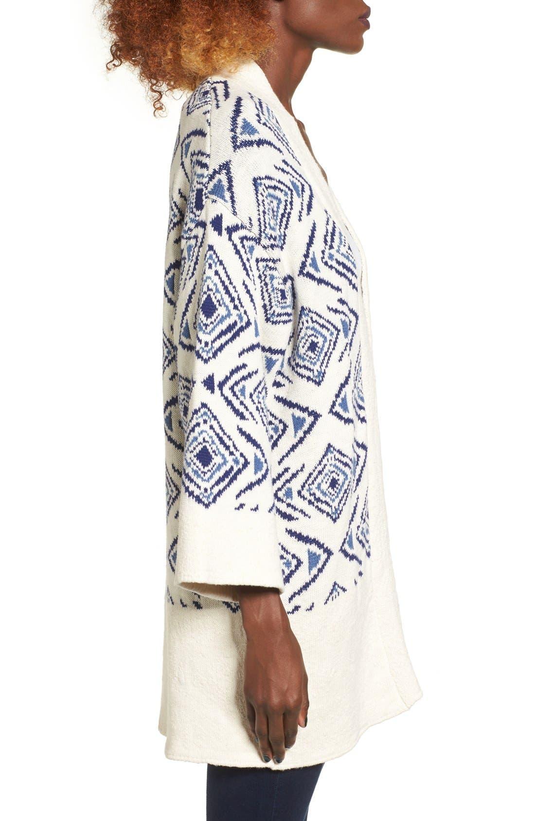 Alternate Image 3  - Roxy Always Forever Kimono Cardigan
