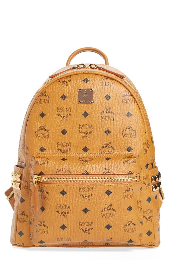 mcm 39 small stark 39 side stud backpack nordstrom. Black Bedroom Furniture Sets. Home Design Ideas