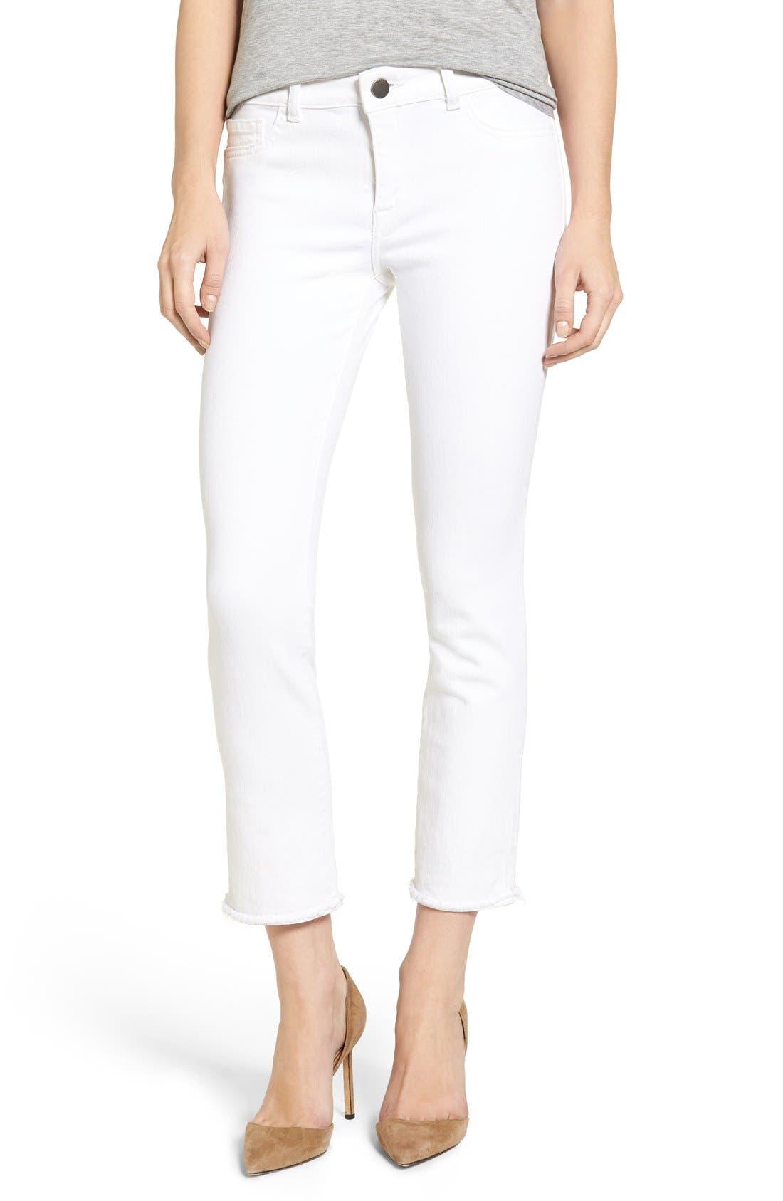 Main Image - DL1961 Mara Ankle Straight Leg Jeans (Oakley)