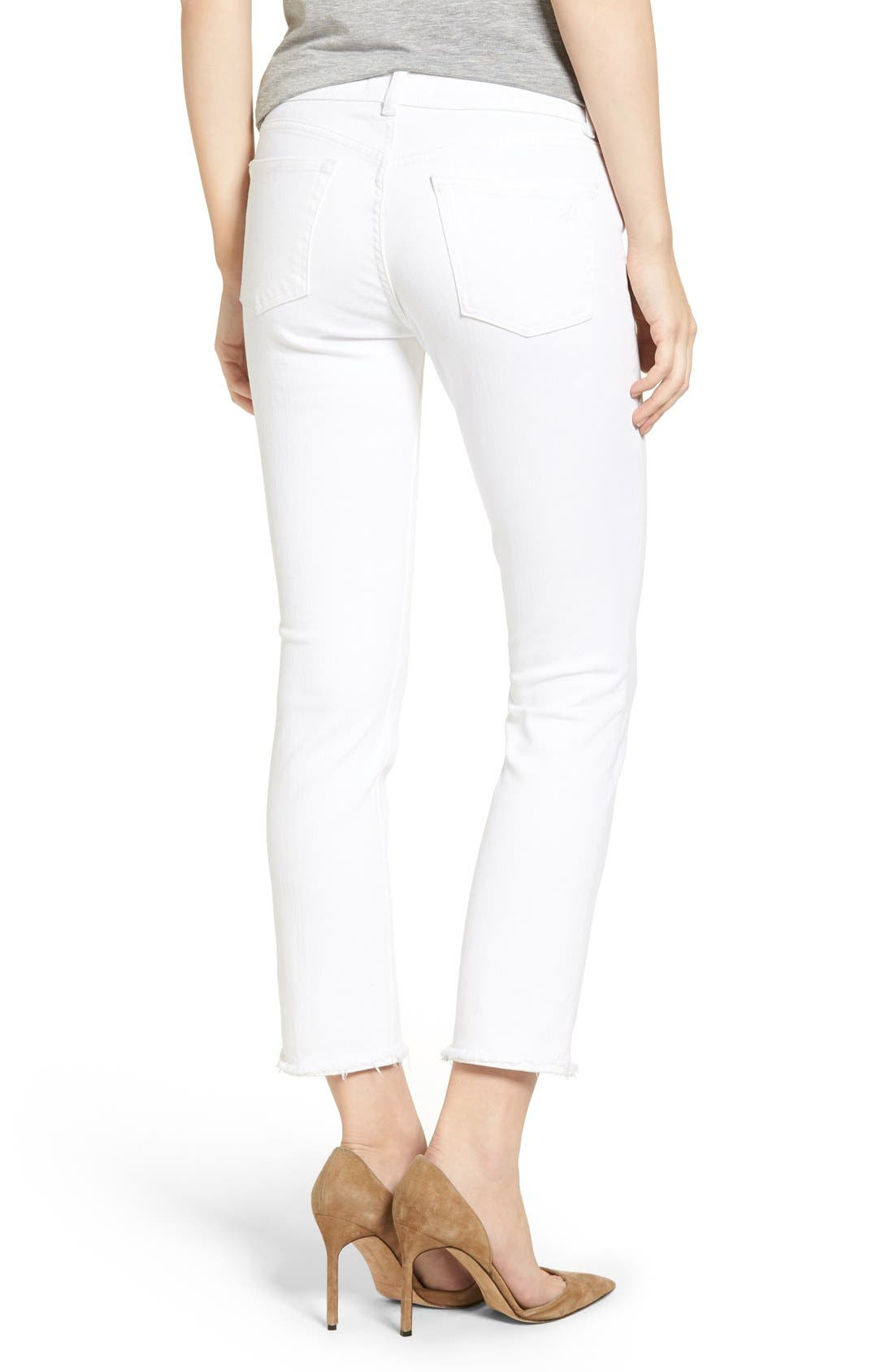 Alternate Image 2  - DL1961 Mara Ankle Straight Leg Jeans (Oakley)