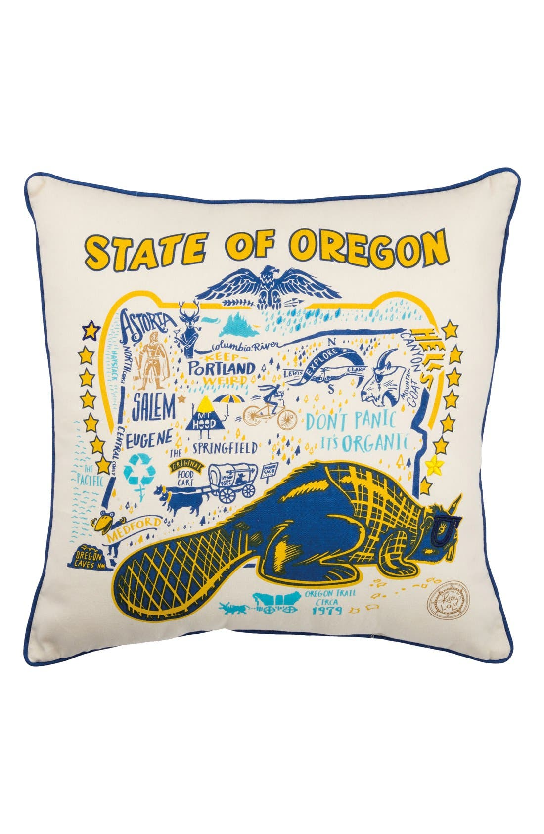 Primitives by Kathy State Decorative Pillow