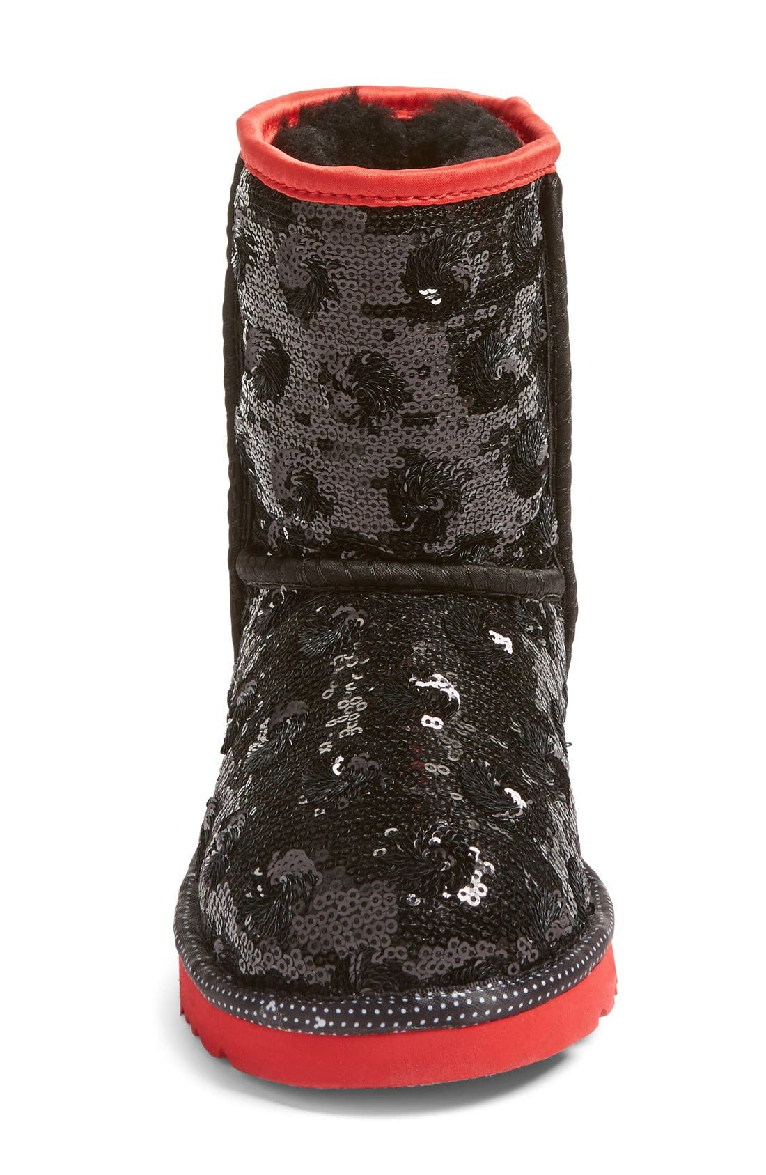 Alternate Image 3  - UGG® x Disney Minerva Short Boot (Little Kid & Big Kid)