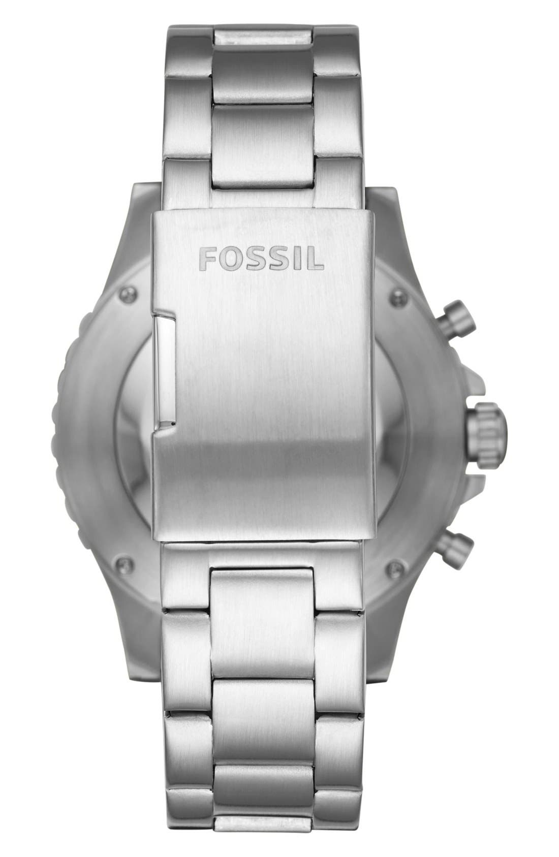 Alternate Image 2  - Fossil Q Crewmaster Smart Bracelet Watch, 46mm