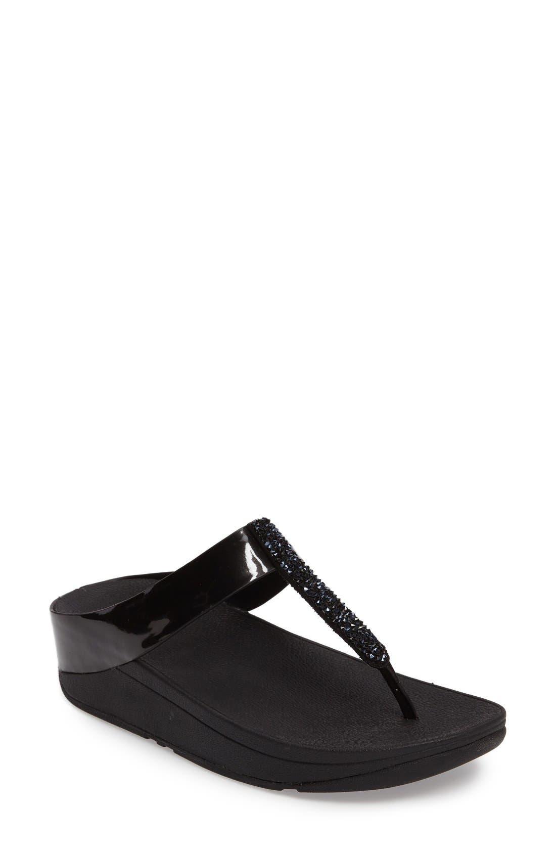 Alternate Image 1 Selected - FitFlop™ Fino Flip Flop Sandal (Women)