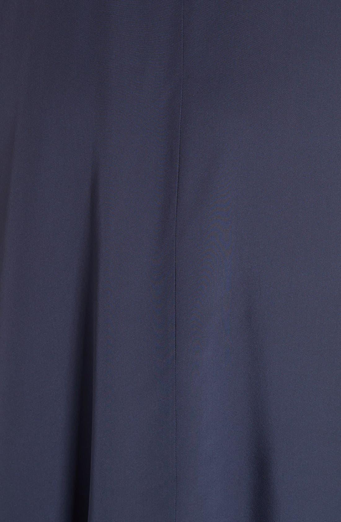 Alternate Image 5  - Tibi Ruffled Silk Midi Dress