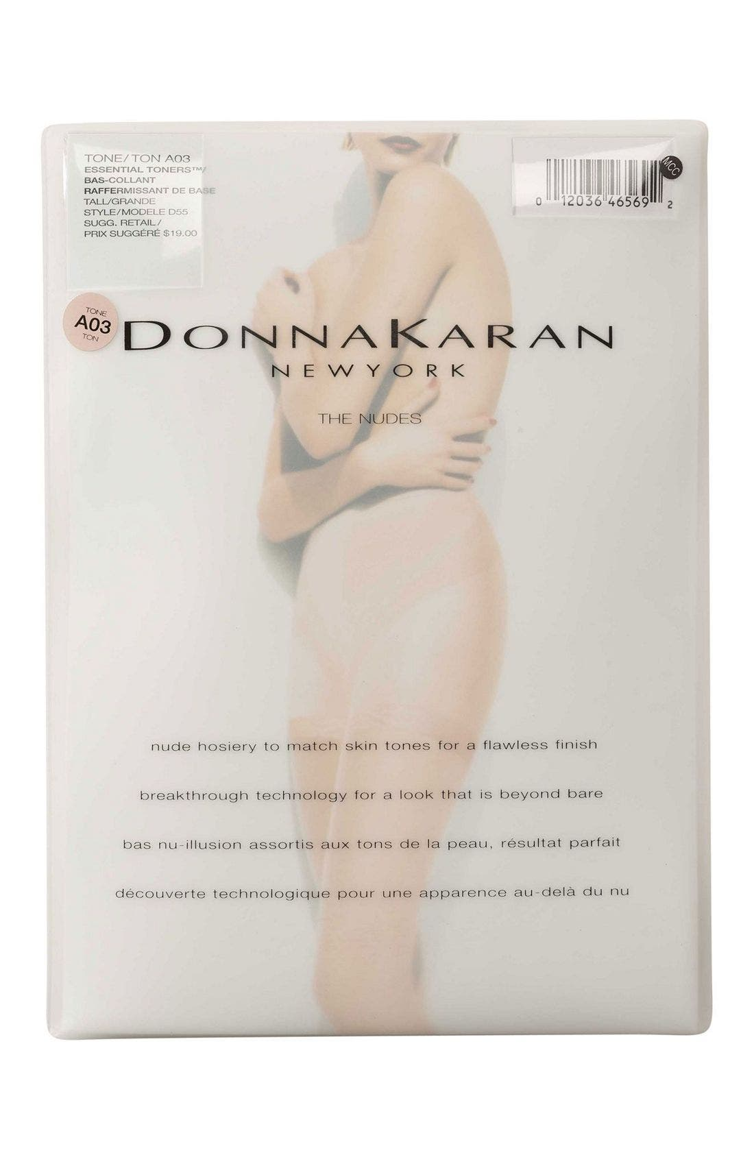 Alternate Image 2  - Donna Karan The Nudes Pantyhose