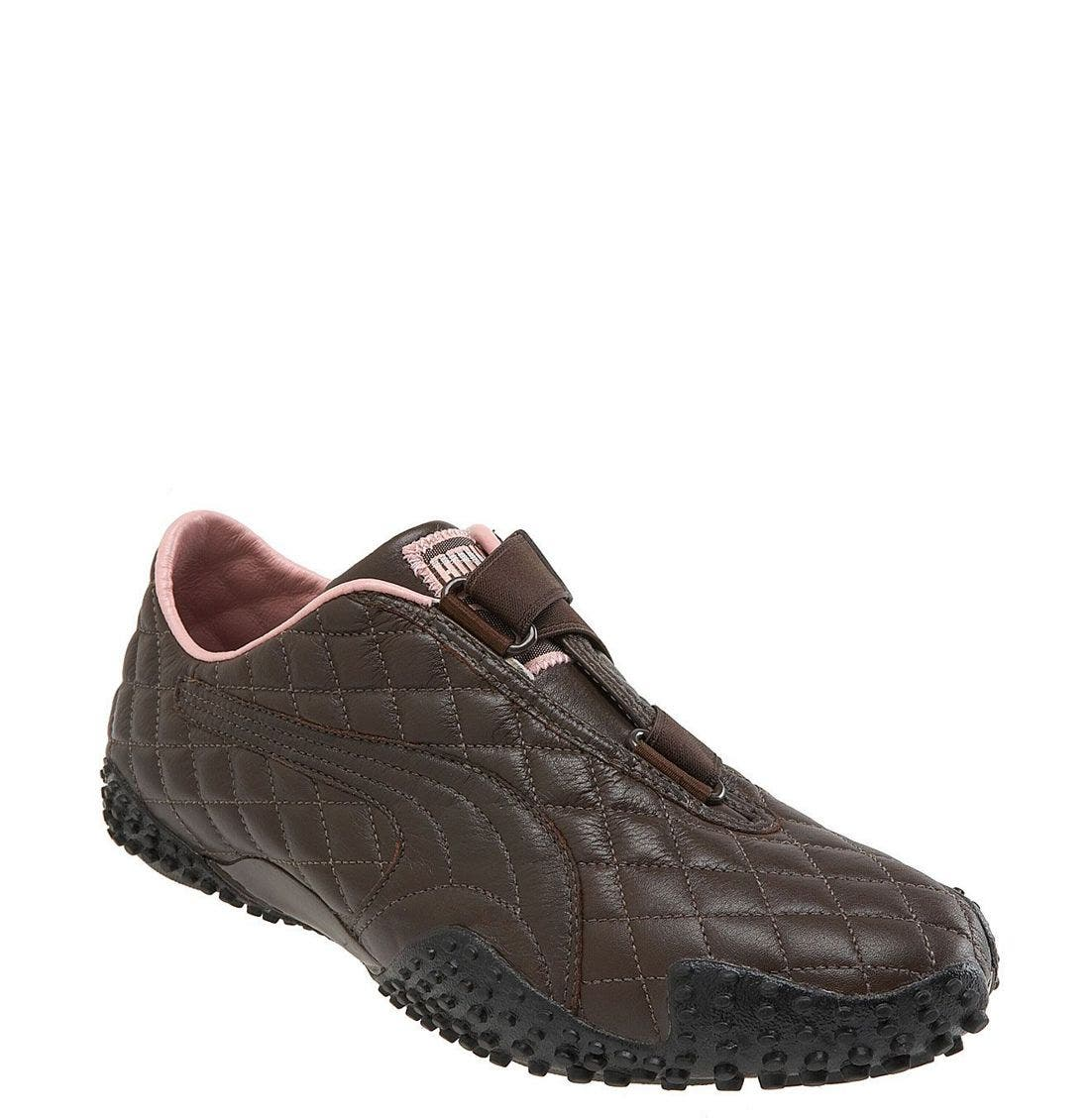 puma mostro quilted sneaker