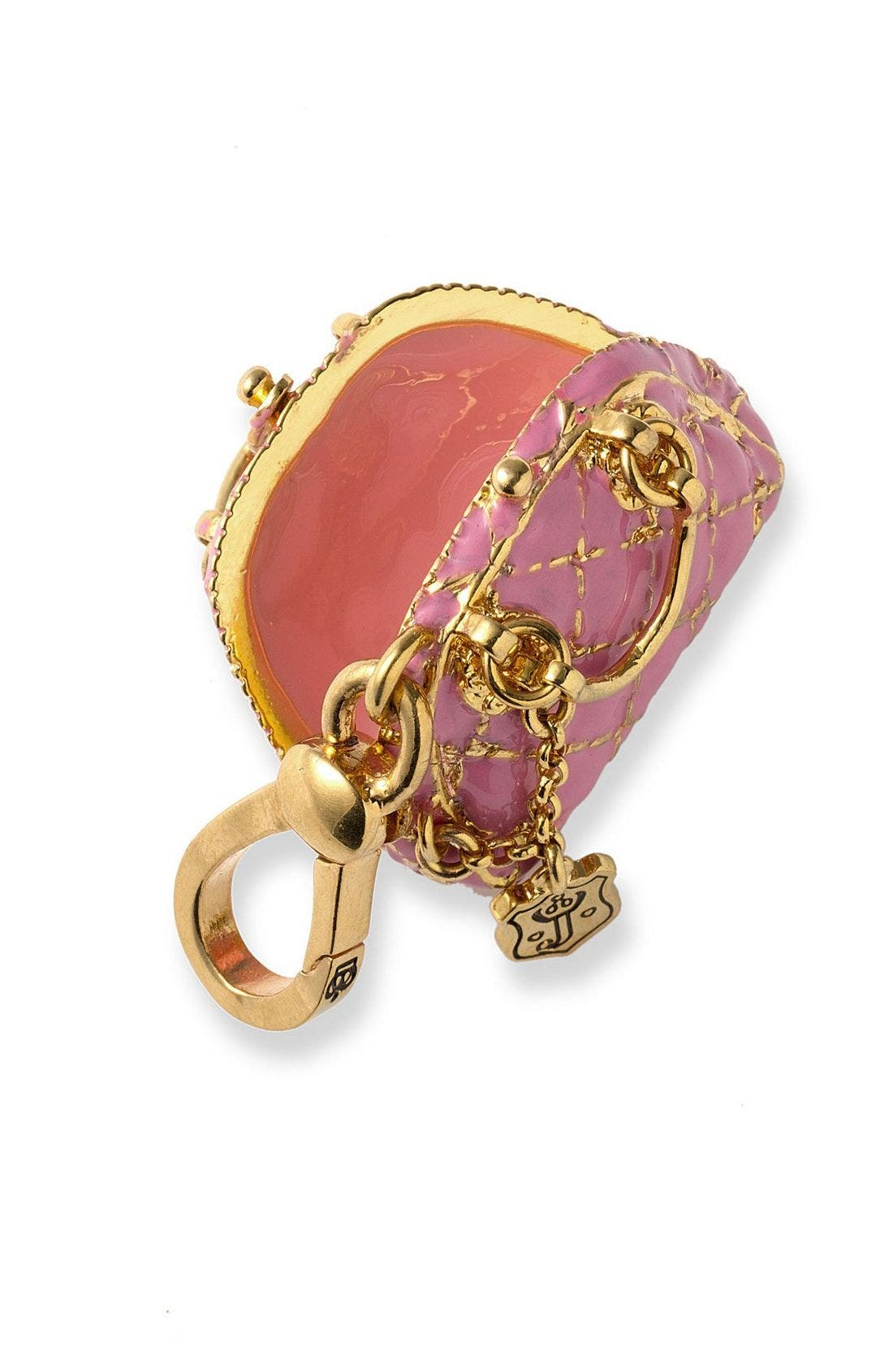Alternate Image 2  - Juicy Couture 'Status Bag' Pink Charm