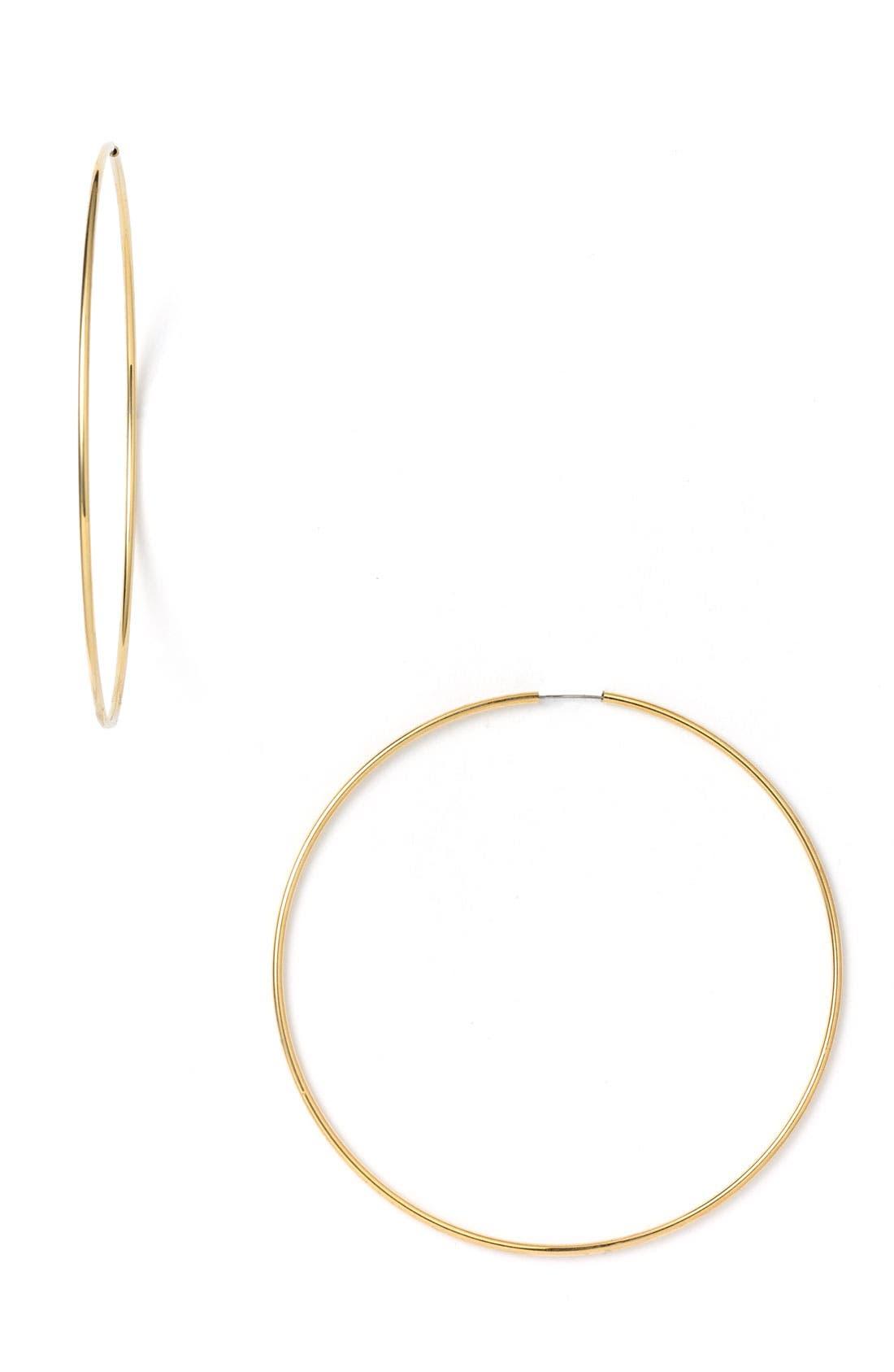 Alternate Image 1 Selected - Nordstrom Endless Oversized Hoop Earrings