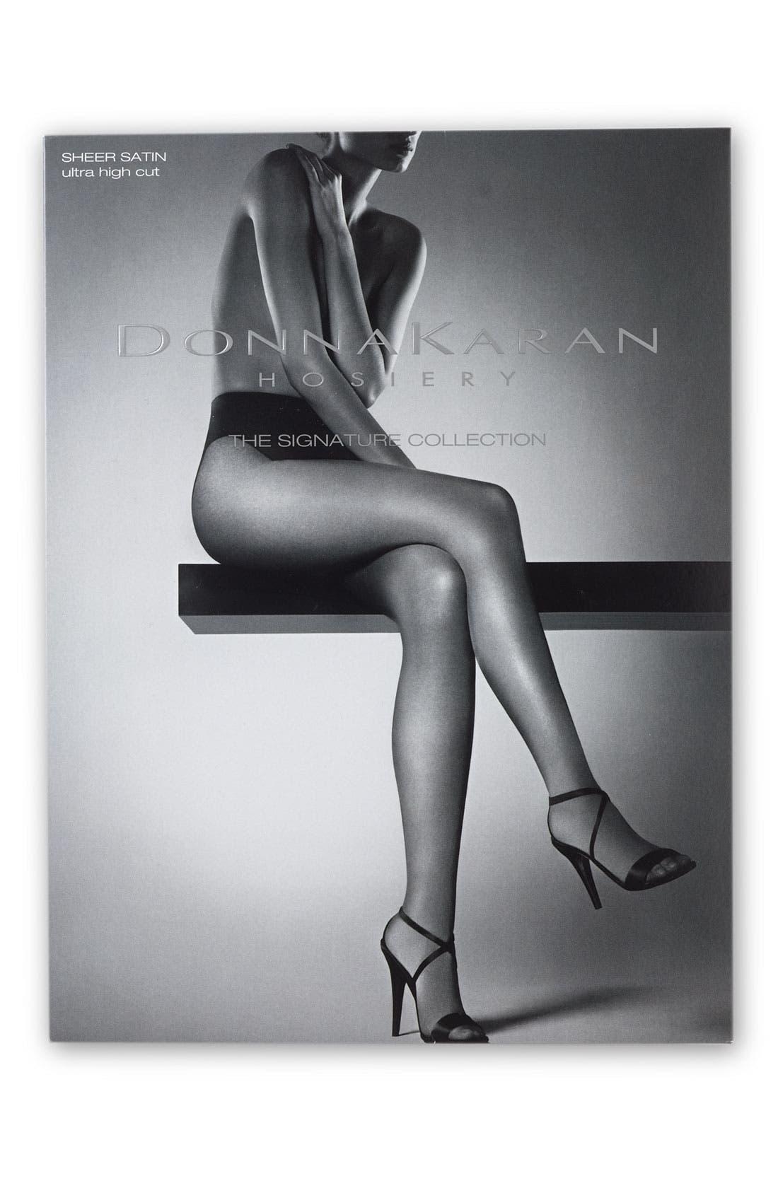 Alternate Image 2  - Donna Karan 'Sheer Tanga' Tights