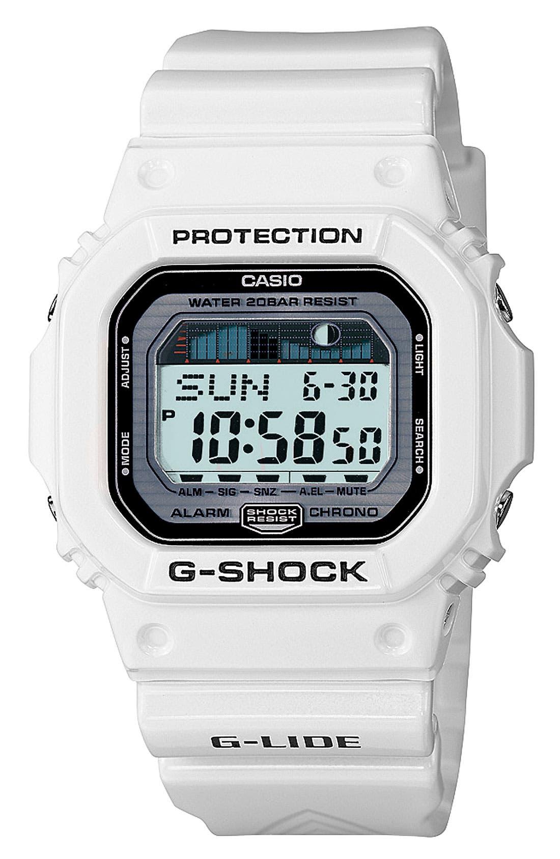 Main Image - G-Shock 'Glide' Watch, 43mm