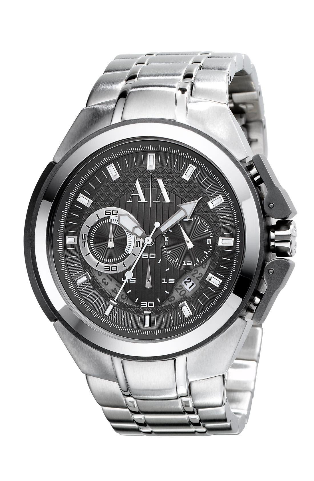 Main Image - AX Armani Exchange Men's Chronograph Watch