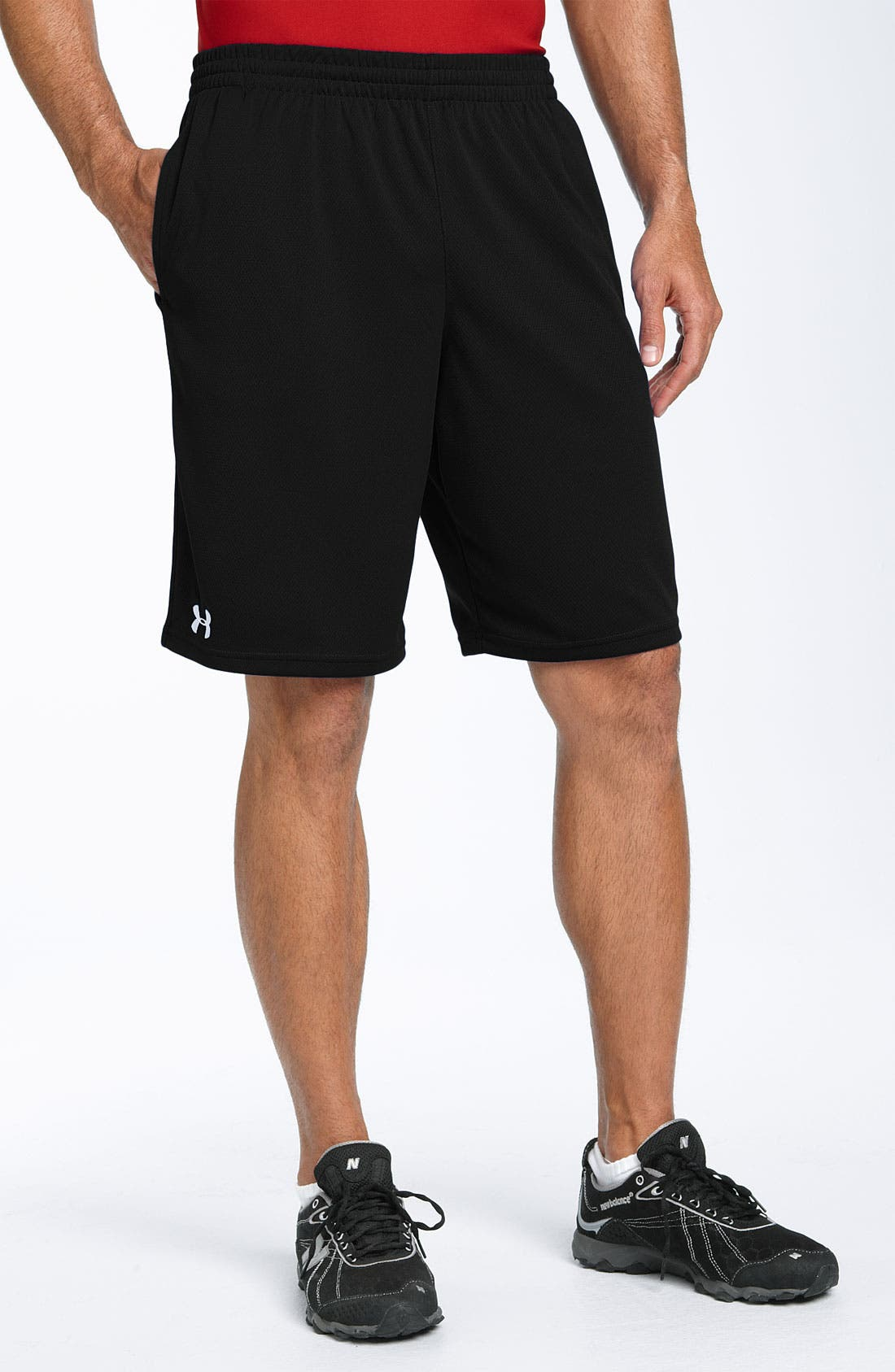 Alternate Image 1 Selected - Under Armour 'Flex' HeatGear® Mesh Shorts