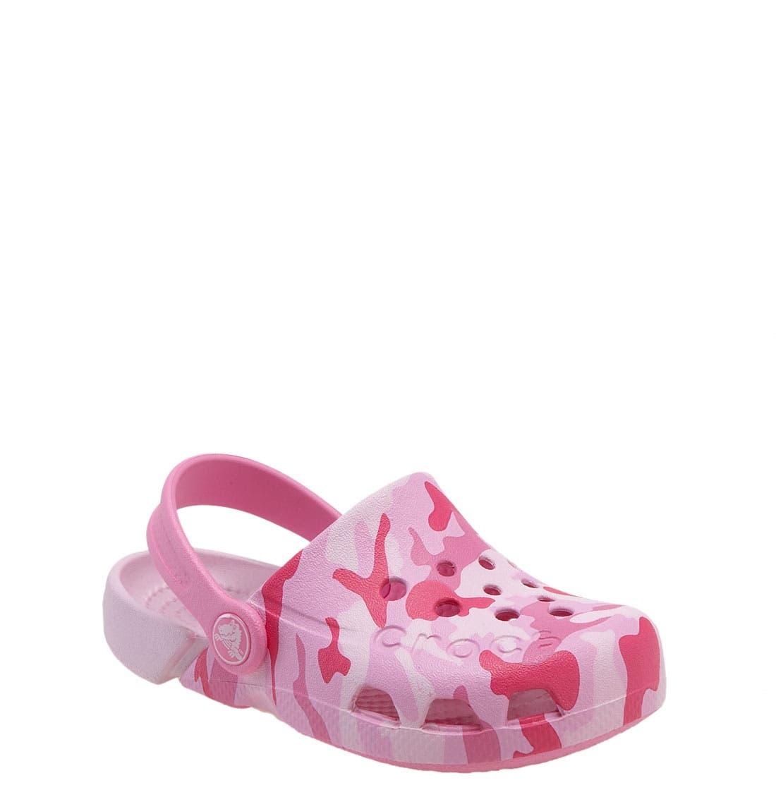 Main Image - CROCS™ 'Electro' Sandal (Baby, Walker, Toddler & Little Kid)