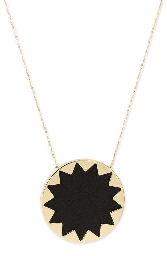 House of harlow 1960 sunburst pendant necklace nordstrom main image house of harlow 1960 sunburst pendant necklace mozeypictures Gallery