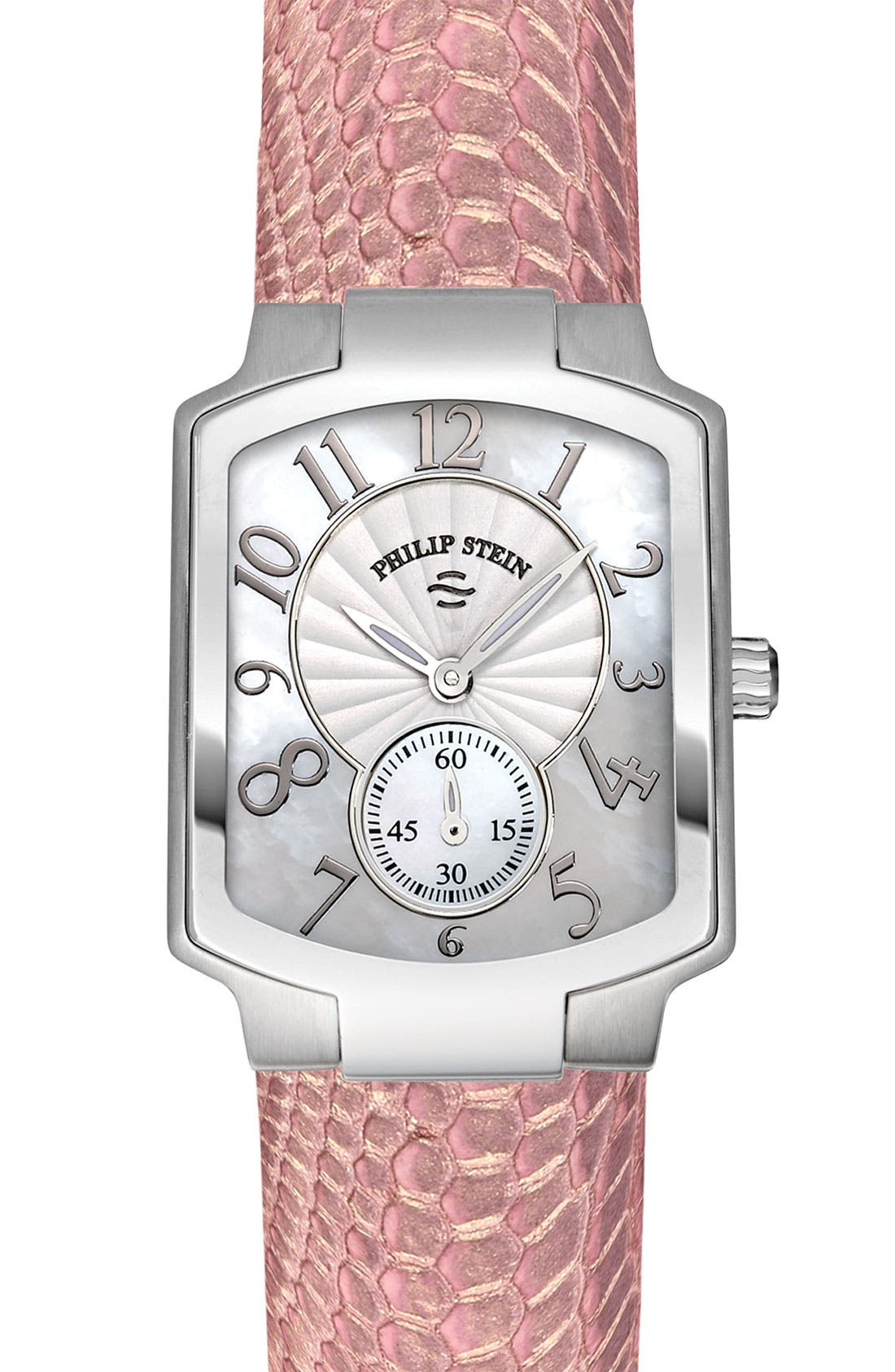 Alternate Image 1 Selected - Philip Stein® 'Classic' Small Customizable Watch