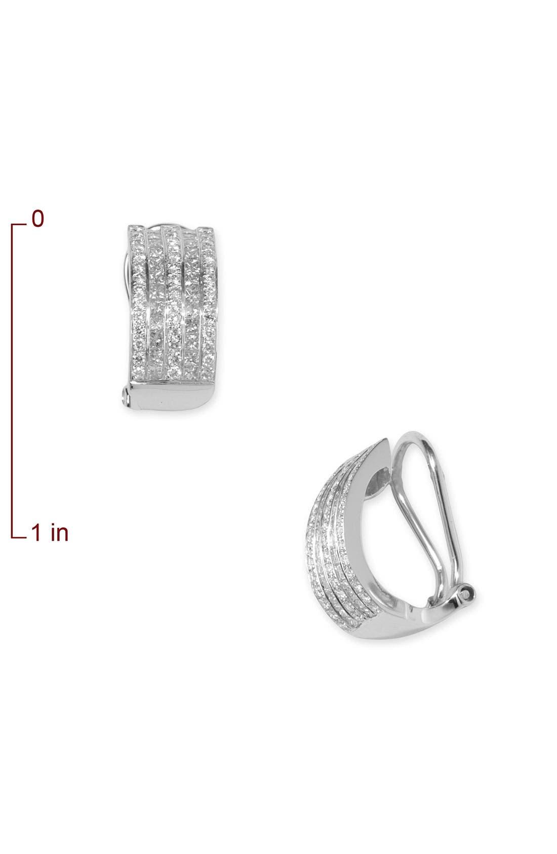 Alternate Image 2  - Bony Levy Five Row Diamond Earrings (Nordstrom Exclusive)