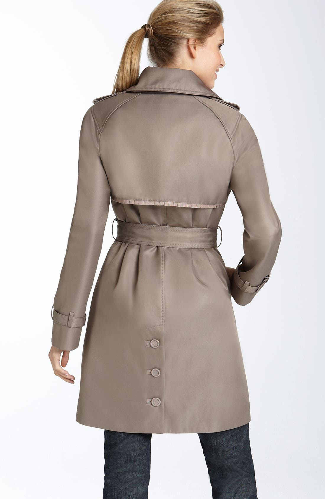 Alternate Image 2  - Jessica Simpson 'Lucy' Double Button Trench