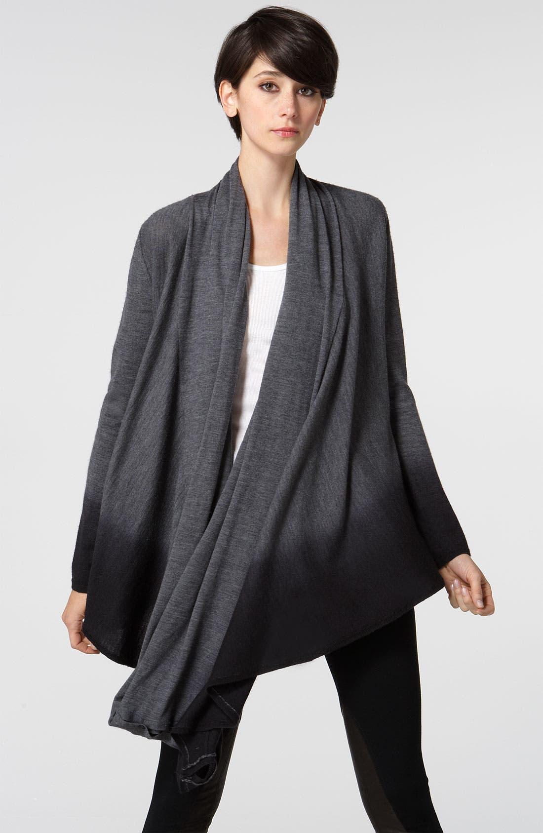 Alternate Image 1 Selected - Alice + Olivia Dip Dye Drape Sweater