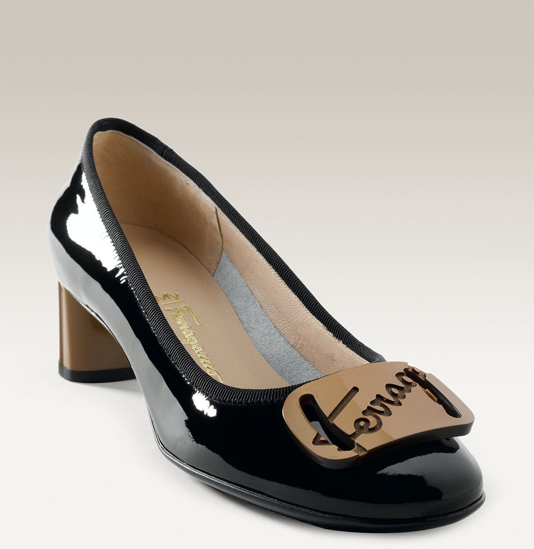 Alternate Image 1 Selected - Salvatore Ferragamo 'My Charm' Pump