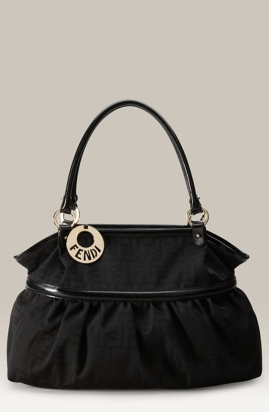 Alternate Image 1 Selected - Fendi 'Chef Zucca - Giant' Tote