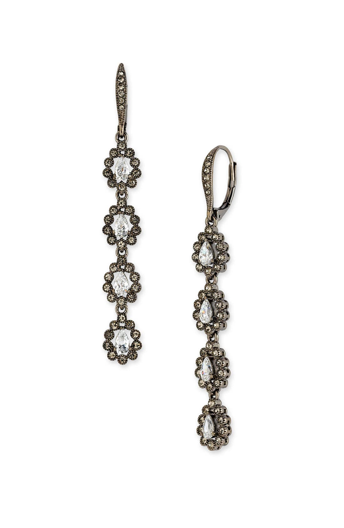 Alternate Image 1 Selected - Nadri Linear Teardrop Earrings