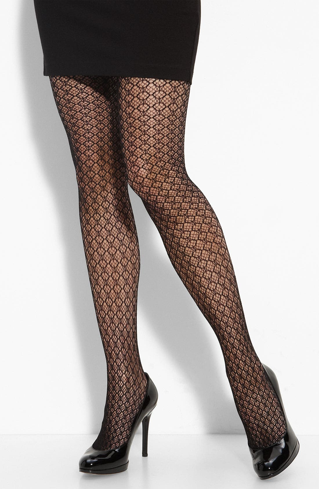 Main Image - Nordstrom 'Vertical Net' Tights
