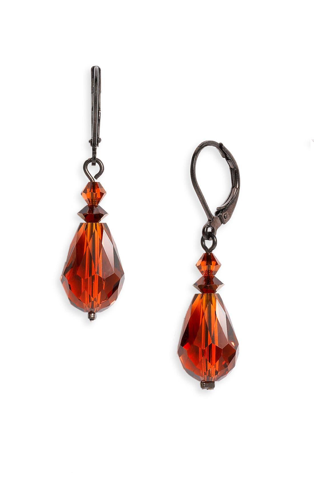 Main Image - Dabby Reid Semiprecious & Crystal Drop Earrings