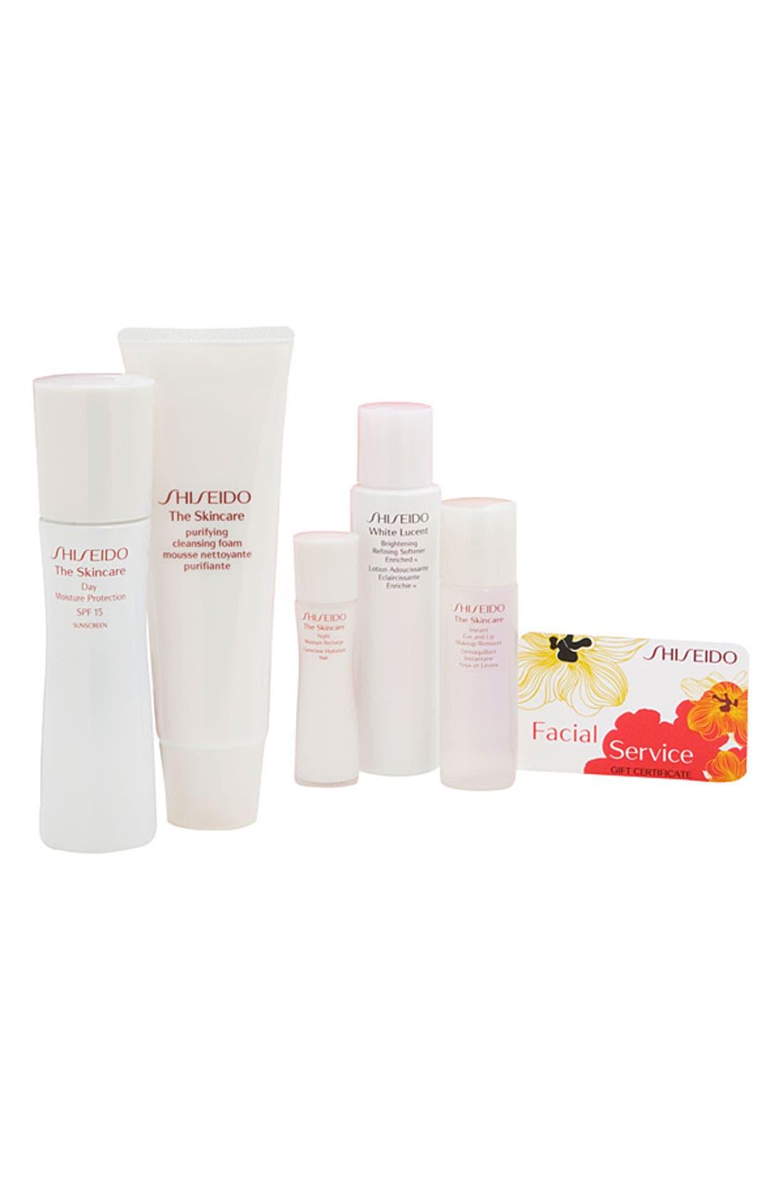 Main Image - Shiseido 'The Skincare' Complete Moisture Set ($102 Value)