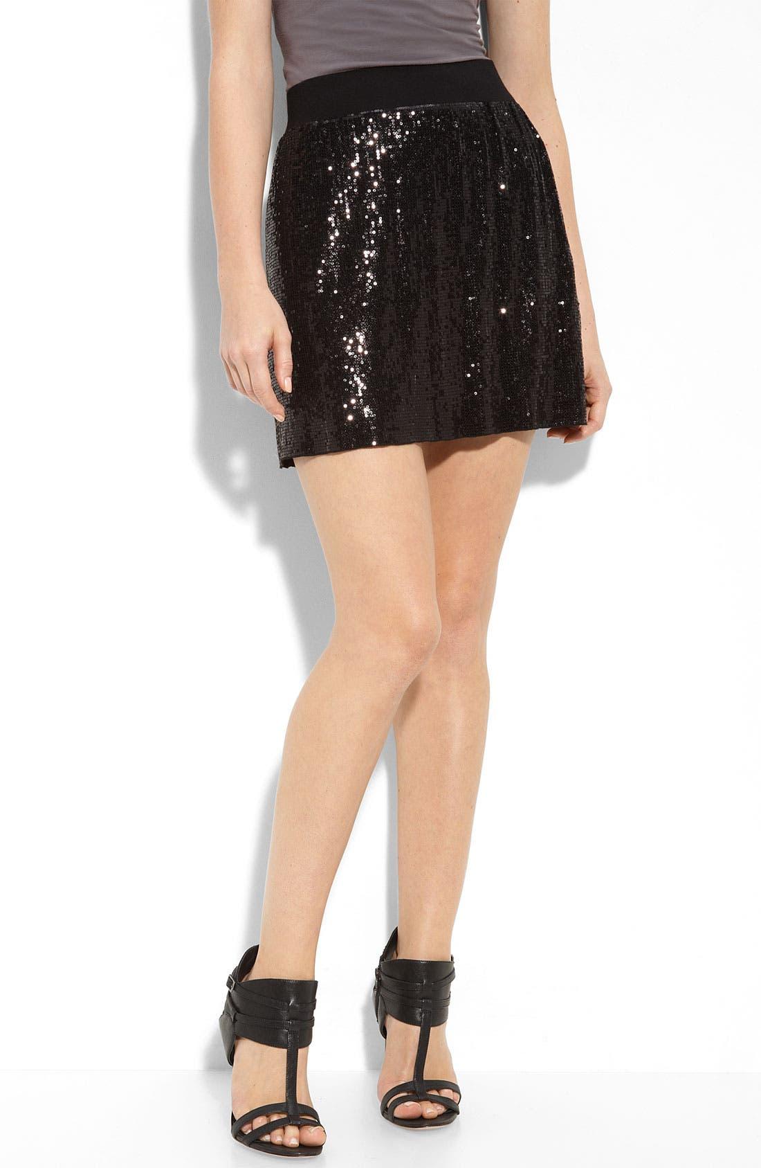 Alternate Image 1 Selected - MICHAEL Michael Kors Sequin Skirt