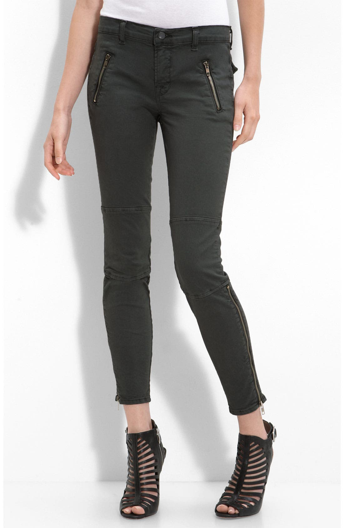 Alternate Image 1 Selected - J Brand 'Agnes' Stretch Twill Pants