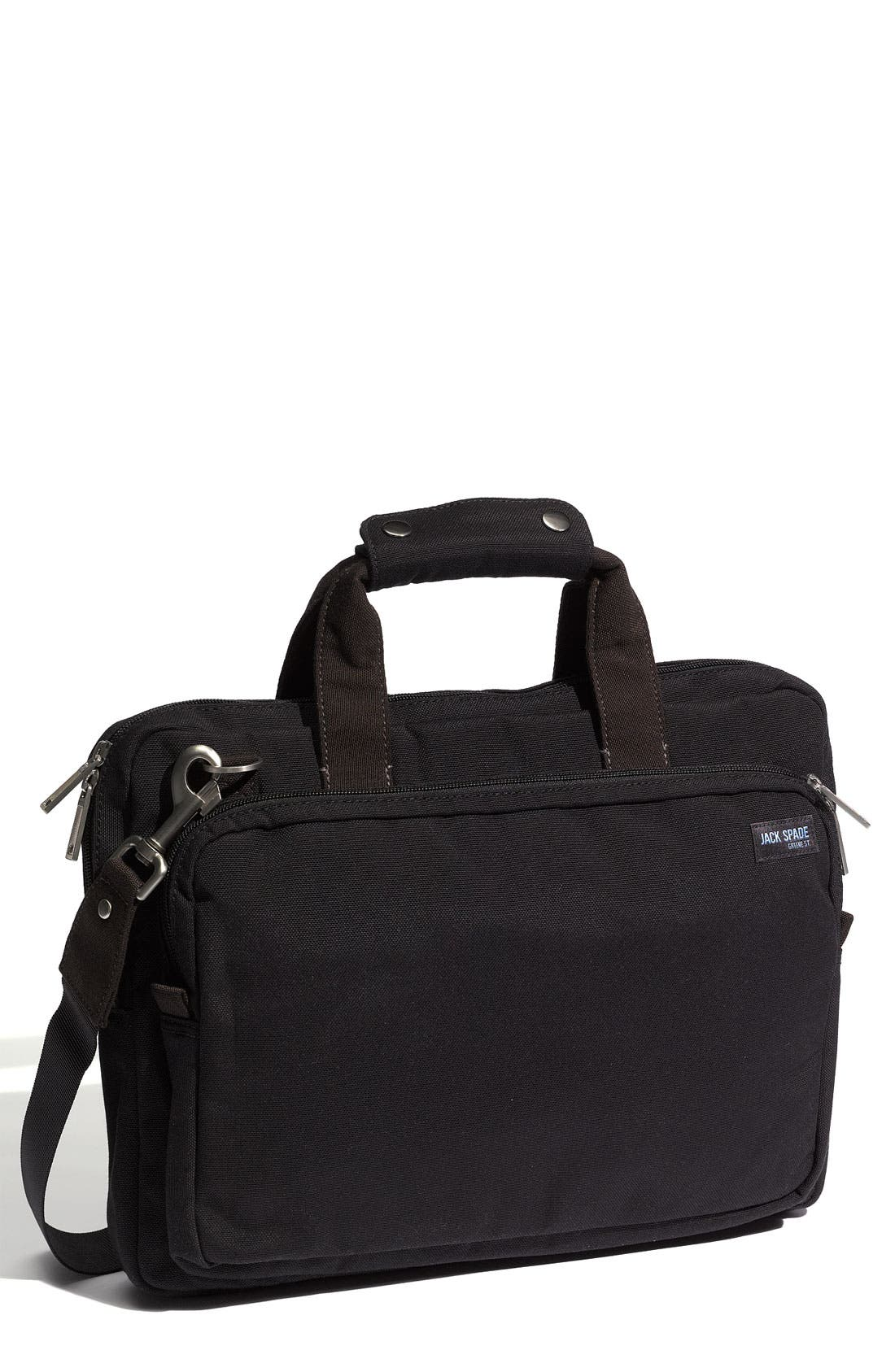 Alternate Image 1 Selected - Jack Spade 'City' Nylon Canvas Briefcase