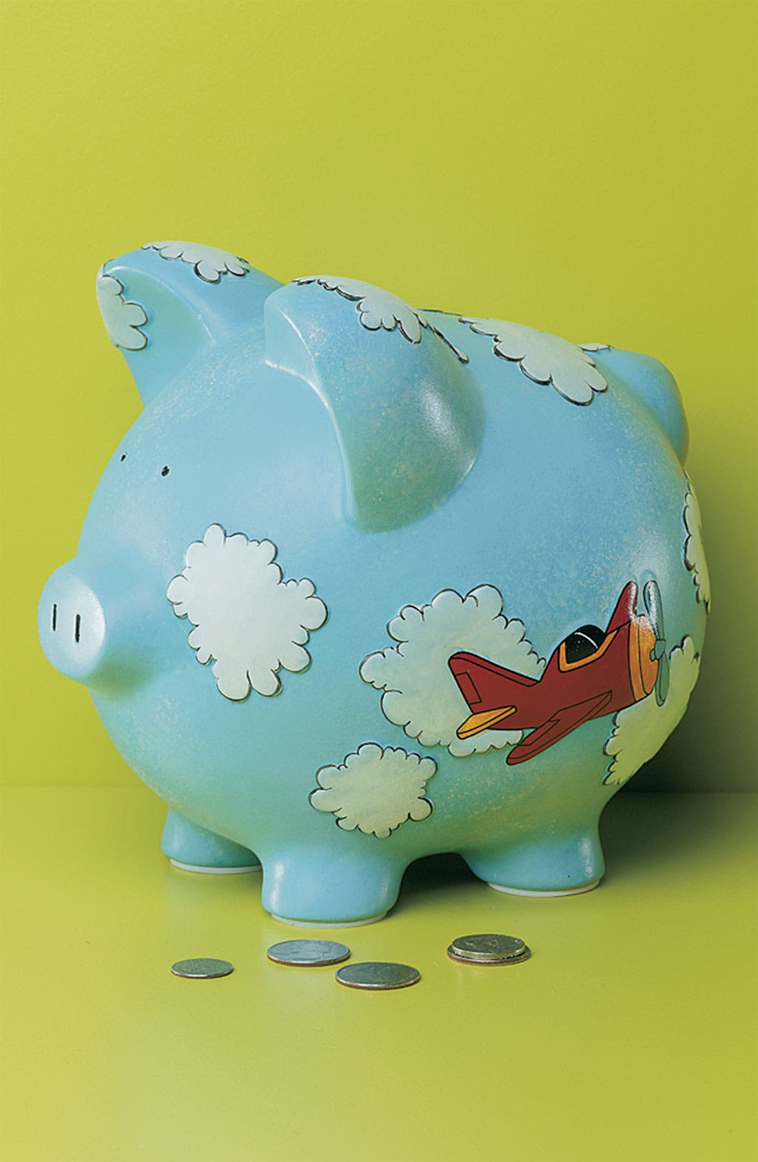Alternate Image 2  - Gift Giant 'Airplane - Large' Ceramic Piggy Bank