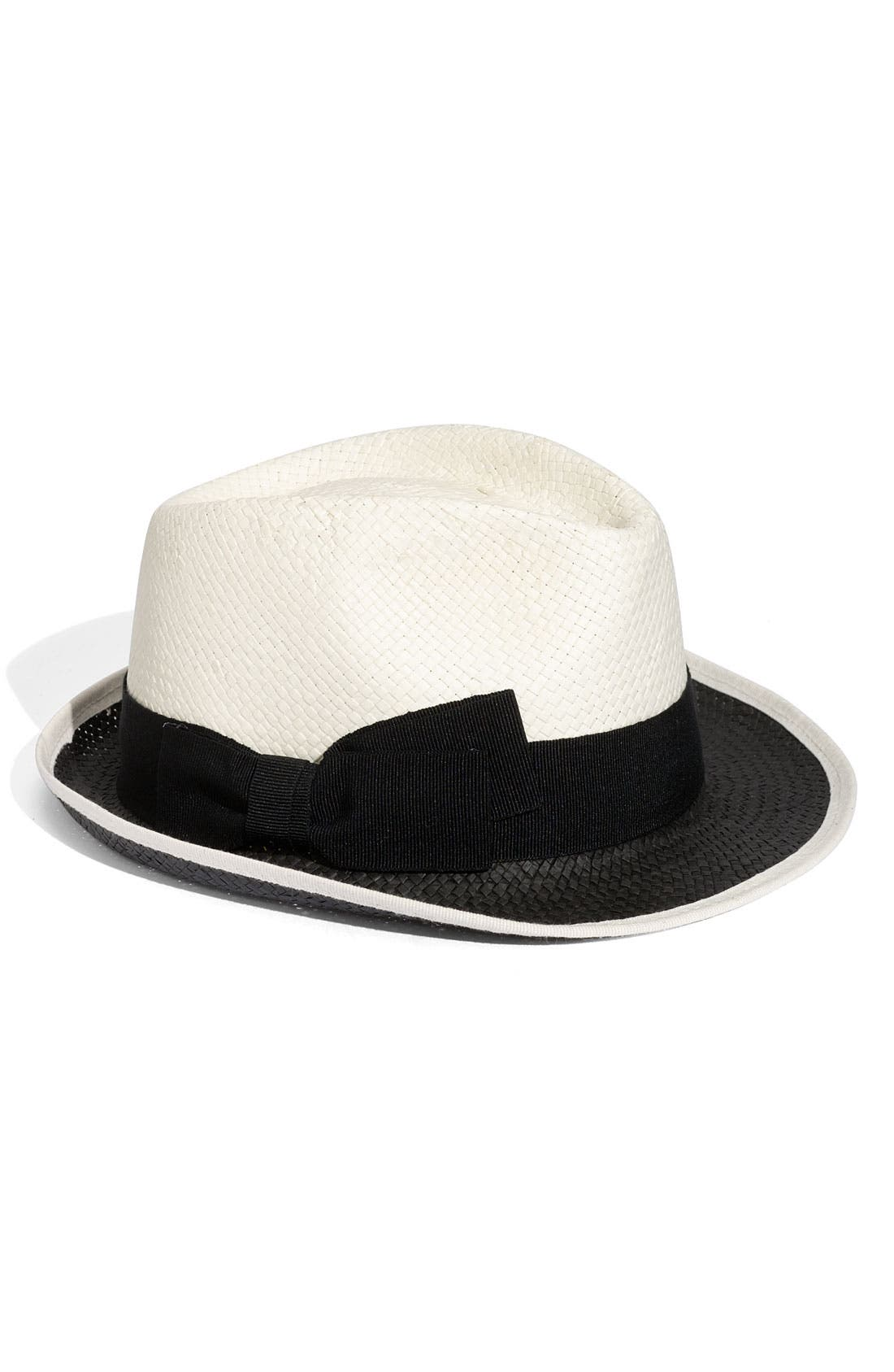 Alternate Image 1 Selected - Nordstrom 2-Tone Fedora
