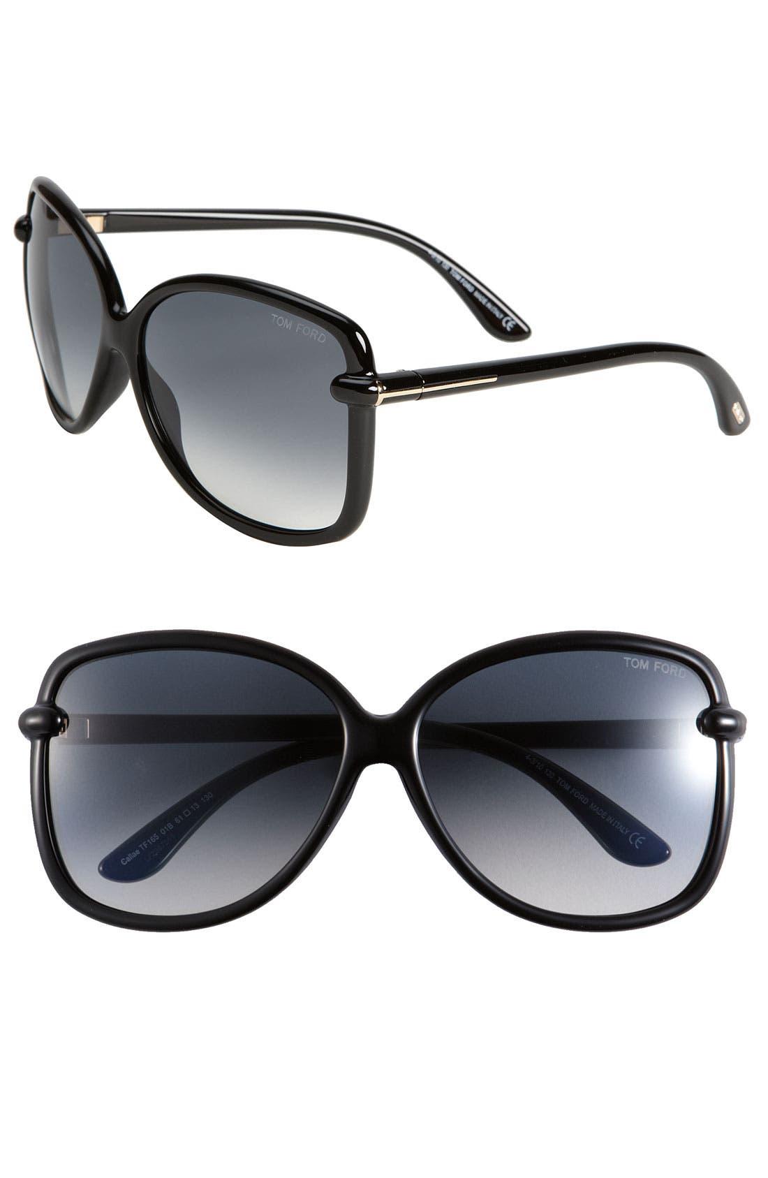 Alternate Image 1 Selected - Tom Ford 'Callae' Sunglasses