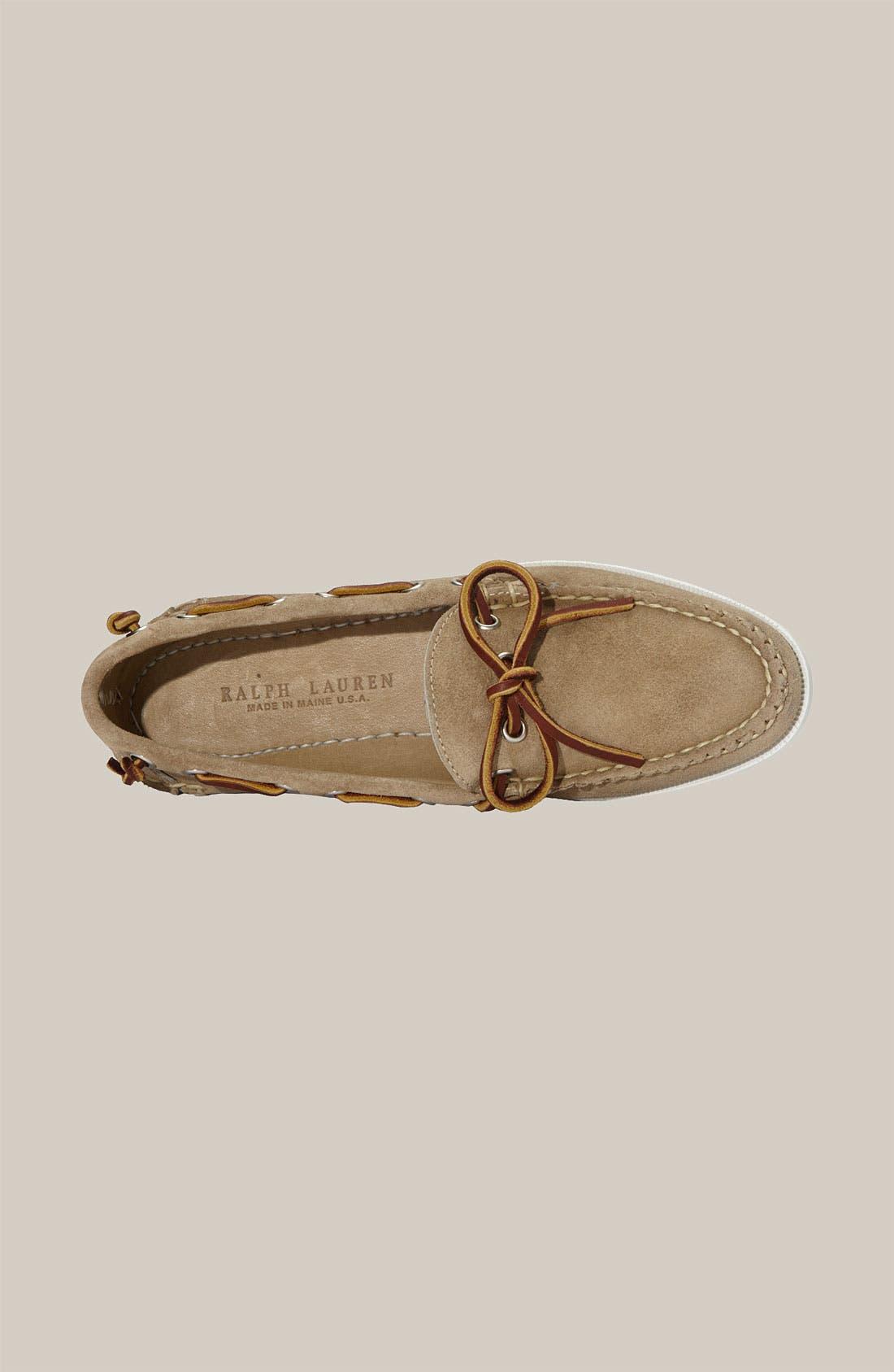 Alternate Image 3  - Ralph Lauren Collection 'Theodora' Boat Shoe