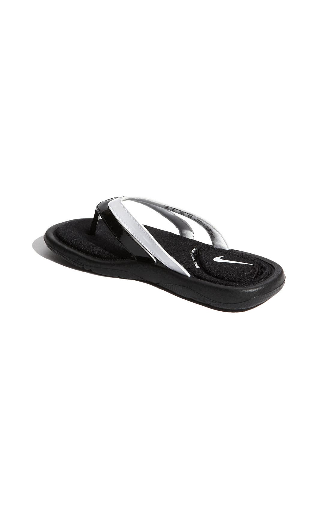 Alternate Image 2  - Nike 'Comfort' Thong Sandal (Toddler, Little Kid & Big Kid)