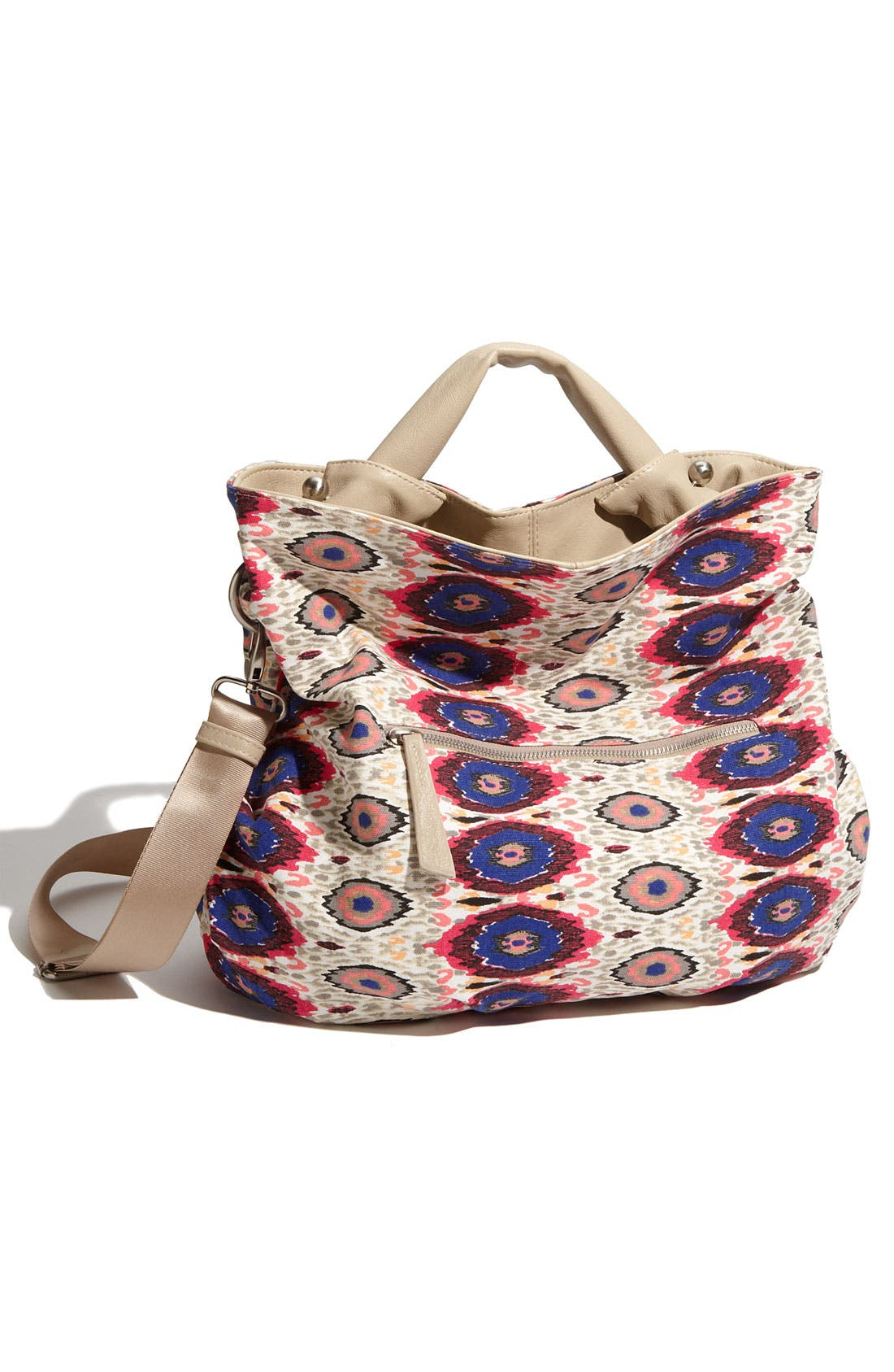 Alternate Image 4  - SR Squared by Sondra Roberts 'Tangier' Faux Leather Reversible Tote