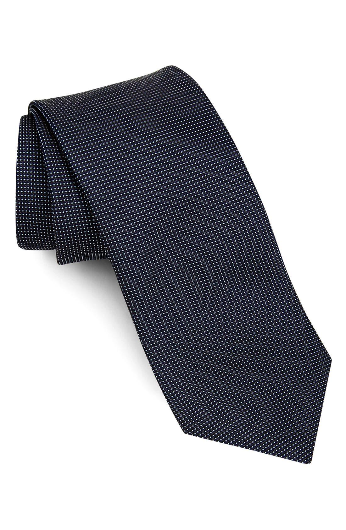 Main Image - John Varvatos Star USA Woven Silk Tie