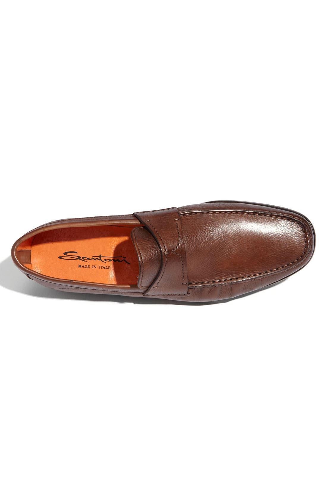 Alternate Image 3  - Santoni 'Quest' Loafer (Men)