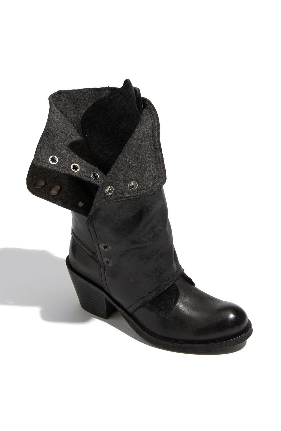 'Brady' Boot,                             Main thumbnail 1, color,                             Black Leather