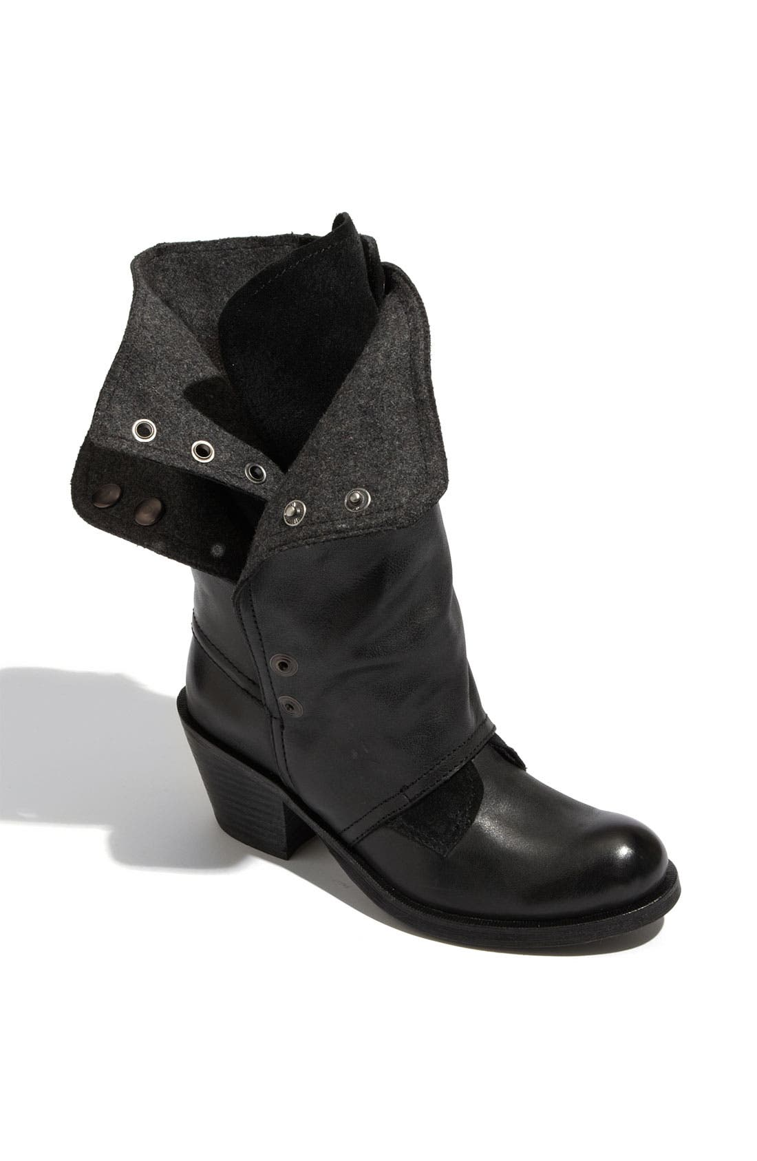 'Brady' Boot,                         Main,                         color, Black Leather