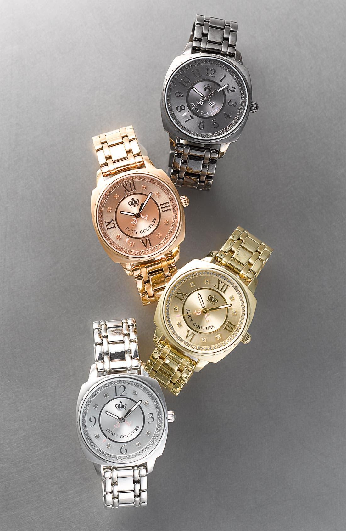 Alternate Image 2  - Juicy Couture 'Beau' Bracelet Watch, 40mm