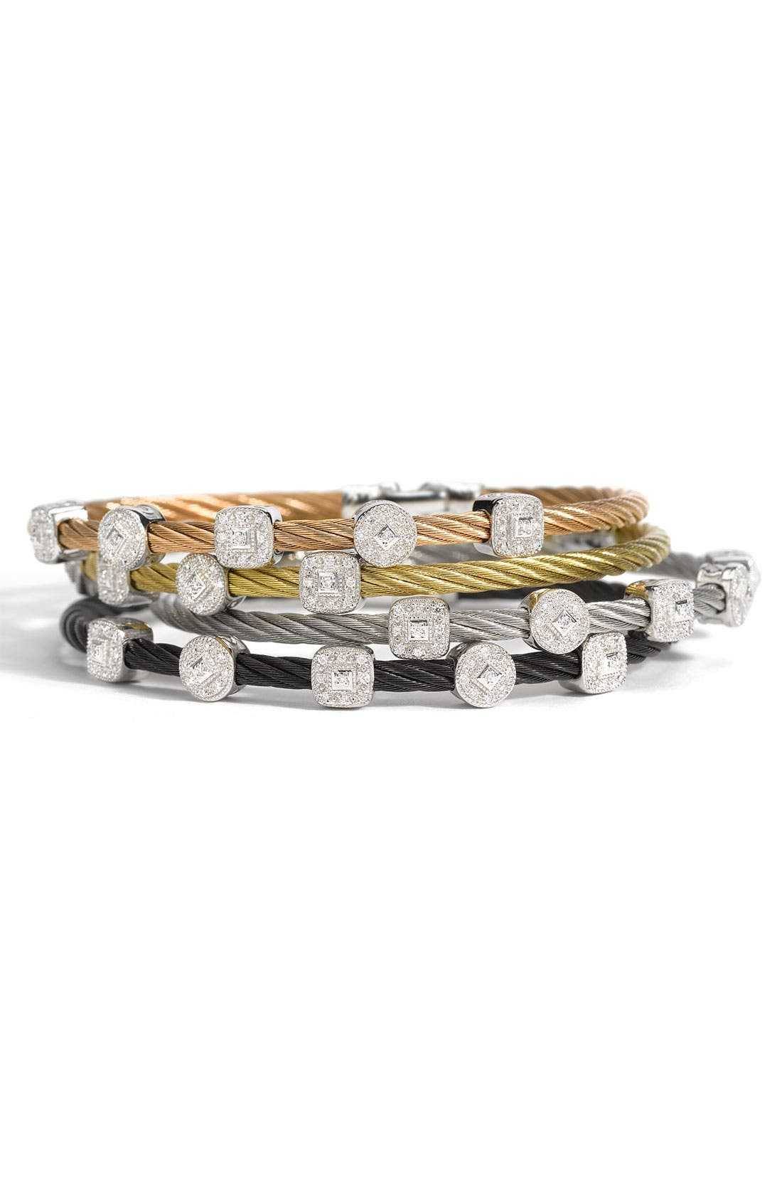 Alternate Image 1 Selected - ALOR® 5-Station Diamond Bracelet (Nordstrom Exclusive)