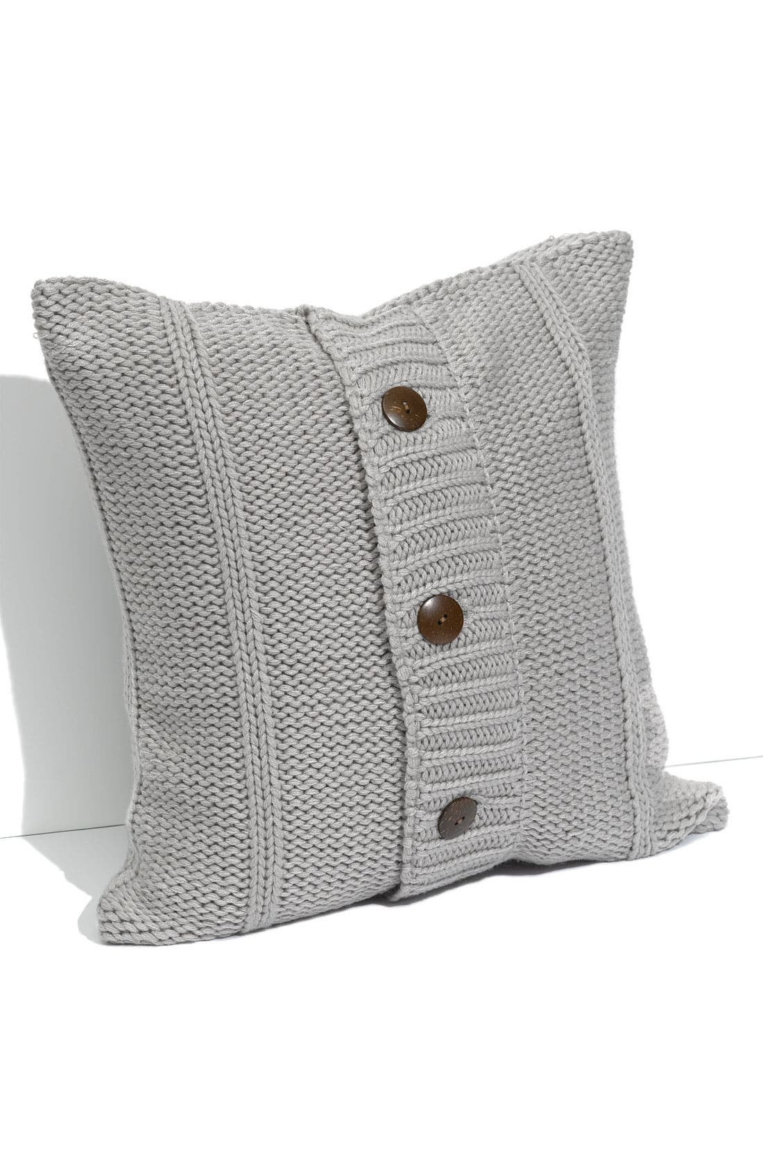 Alternate Image 1 Selected - Nordstrom at Home Rib Knit Pillow