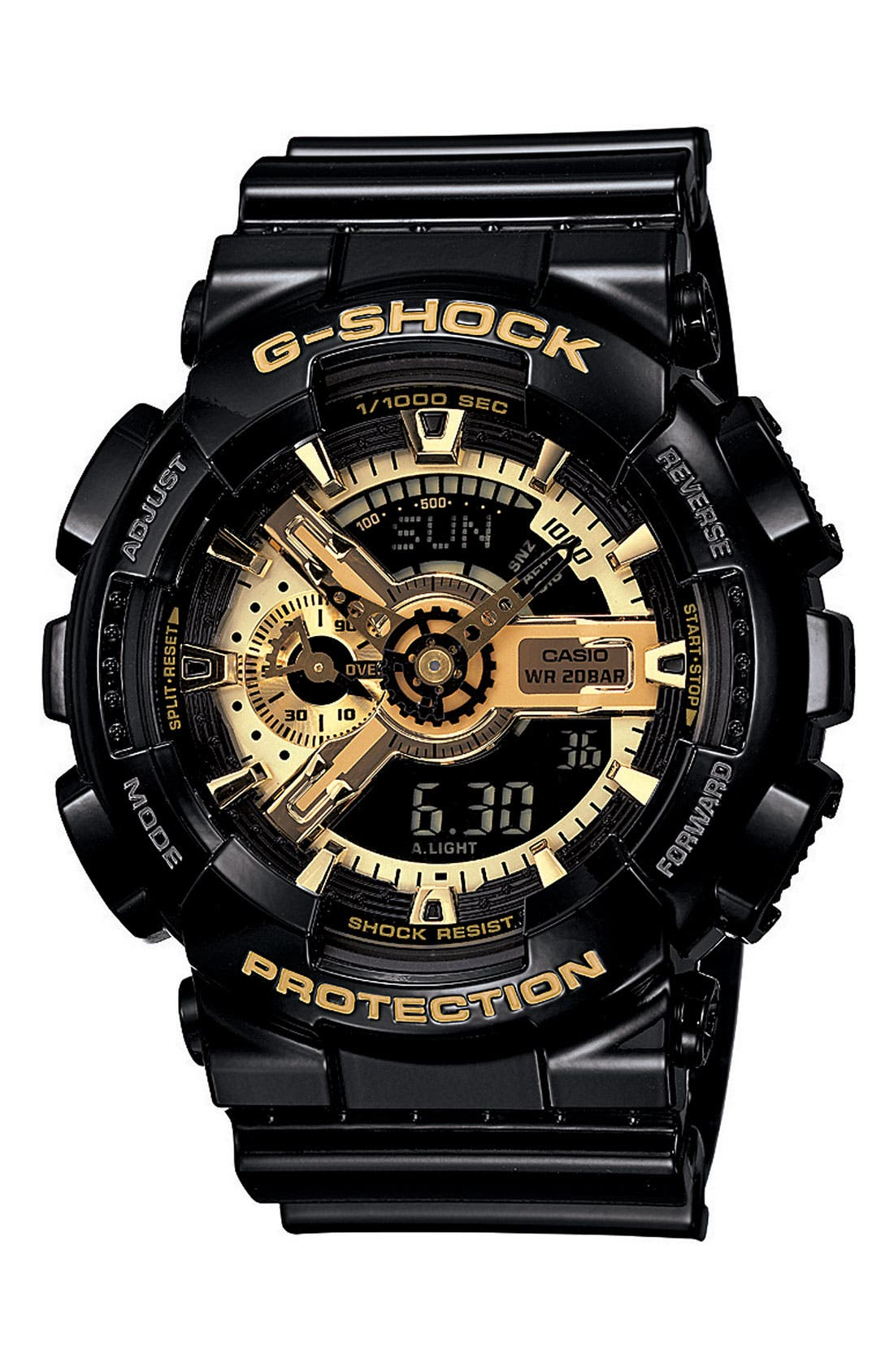 G-Shock 'X-Large Big Combi' Watch, 55mm x 51mm